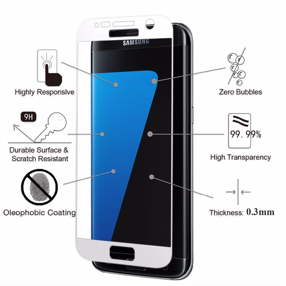 Premium 9H Full Covered Anti-Scratch Tempered Glass Screen Protector - Mobile Phone Accessories and Parts - Photo 3