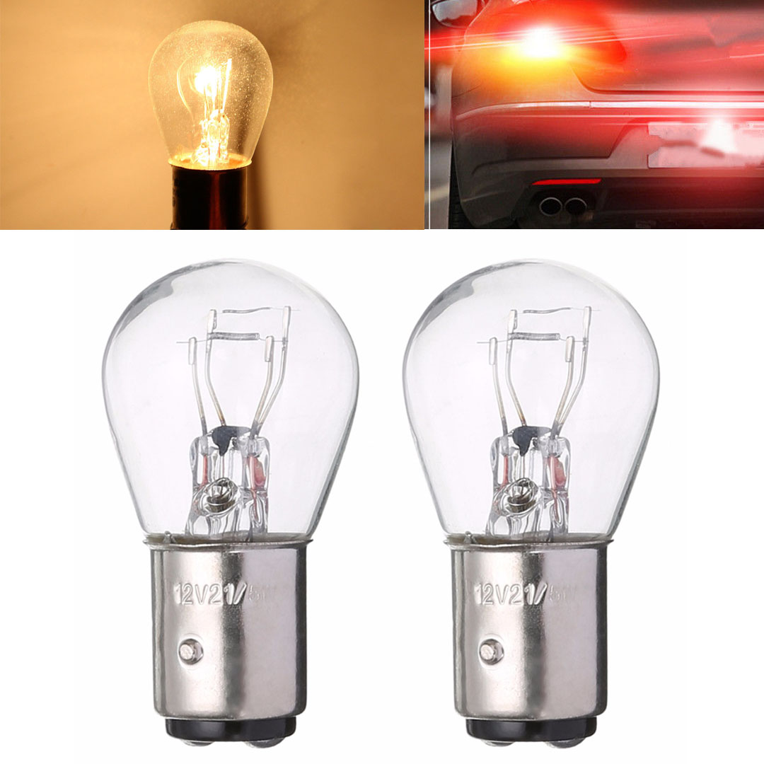 2pcs 1157 BAY15D Light 21/5W Car Reverse Backup Stop Brake Tail Light Bulb Auto Front Rear Side Marker License Plate White Lamp sitaile universal 12v 30 led car license plate backup reverse brake rear light lamp bar red white waterproof number plate lamp