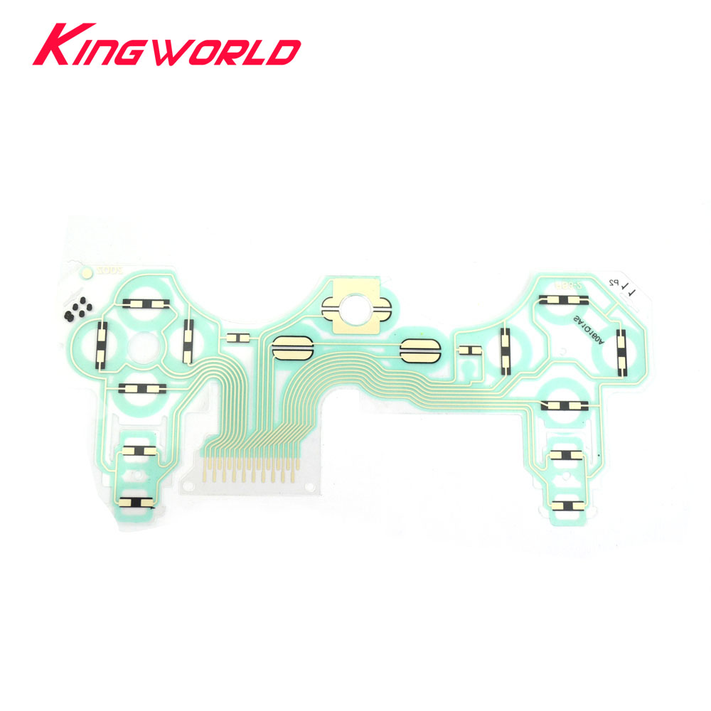 4PCS Six-axis Vibration Membrane Handset Membrane Conductive Film Board Ribbon Cable For PS3 Controller Gamepad