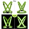 Hot 360 Degrees High Visibility Neon Safety Vest Reflective Belt Safety Vest Fit For Running Cycling