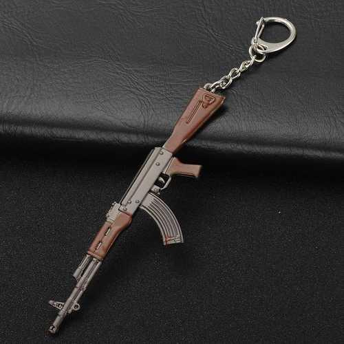 Битва рояль игрушка кулон 3D H6 металлический Молот топор AWM оружие брелок Battlefield FPS брелок с рисунком из игры мальчик мужские ювелирные изделия