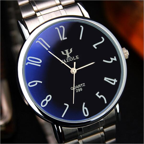 Quartz Watch <font><b>Men</b></font> Leisure And Business Waterproof Strip Watch Classic Retro Belt Male Table Ultra-Thin <font><b>Blu-Ray</b></font> 2016 LZ708
