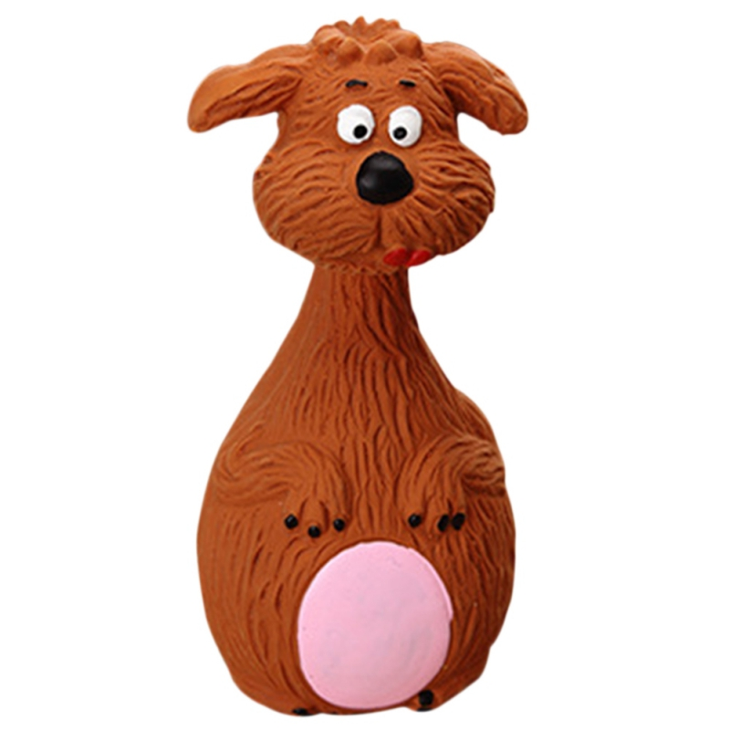 Chew Toys Grind the Teeth Dog Toys Animal Shape Pet Puppy Dog Latex Chew Squeaker Squeaky Sound Playing Toys