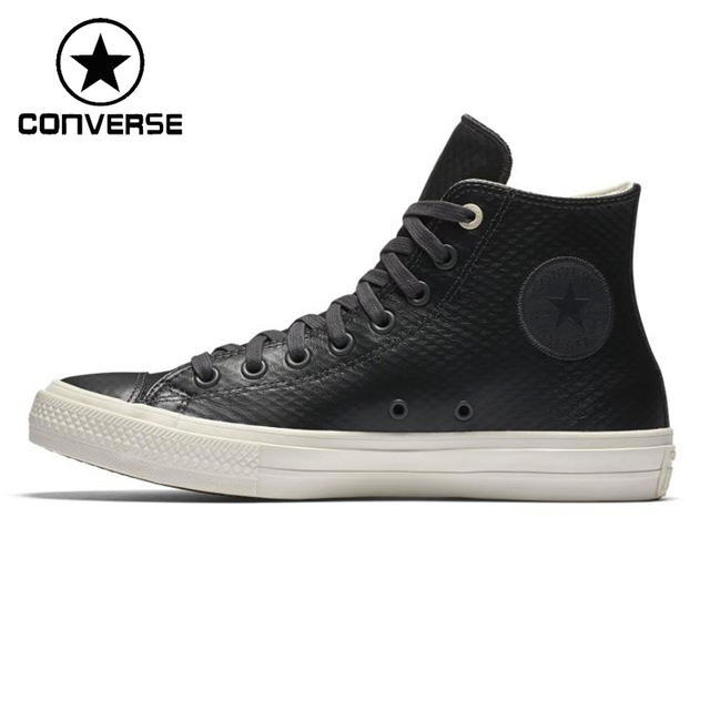 bc11f4bfdd US $123.79  Original New Arrival Converse ALL STAR Unisex Leather  Skateboarding Shoes Sneakers-in Skateboarding from Sports & Entertainment  on ...