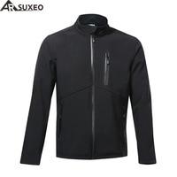 ARSUXEO 2017 Thermal Fleece Cycling Jacket Winter Warm Up Bike Clothing Windproof Waterproof Sports Coat MTB