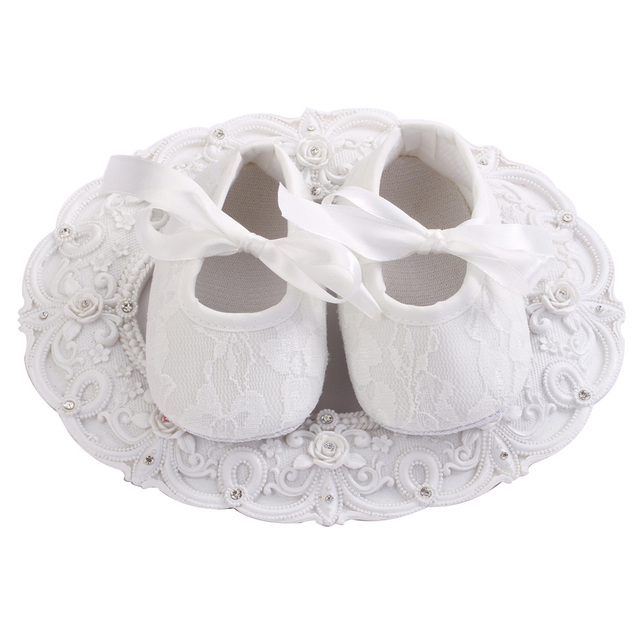 4 pairlot ivory white flower girls baby shoes sapato bebe prewalker 4 pairlot ivory white flower girls baby shoes sapato bebe prewalker infant christening girls mightylinksfo