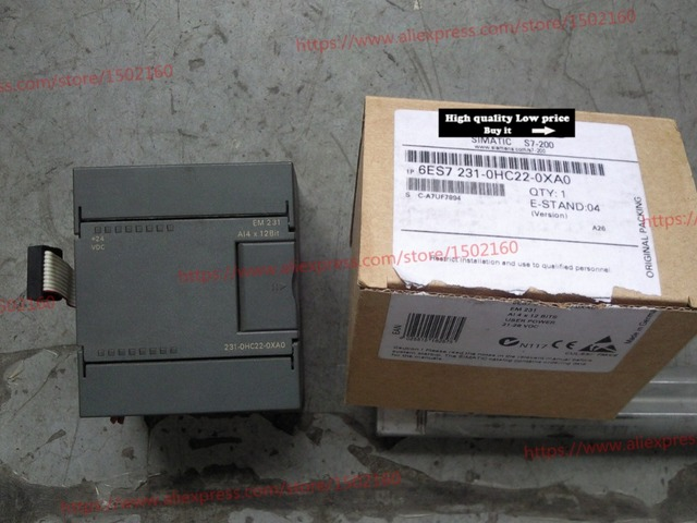 EM231 6ES7 231 0HC22 0XA0 חדש מקורי