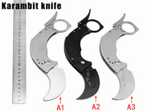 New Karambit Knife Folding Blade Knife Survival Knives Hunting Tactical Knifes Steel Handle Camping Outdoor Tools k77