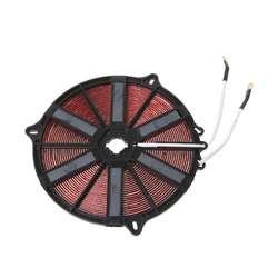 Катушка индукционной плиты пособия по кулинарии компонент Отопление 2000 Вт 220 В Универсальный панель медь покрытием катушки безопасный