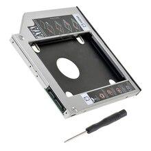 NEW 9.5mm SATA 2nd SSD HDD Caddy for HP 250 255 450 470 G4 G5 G6 Hard Disk Drive Caddy