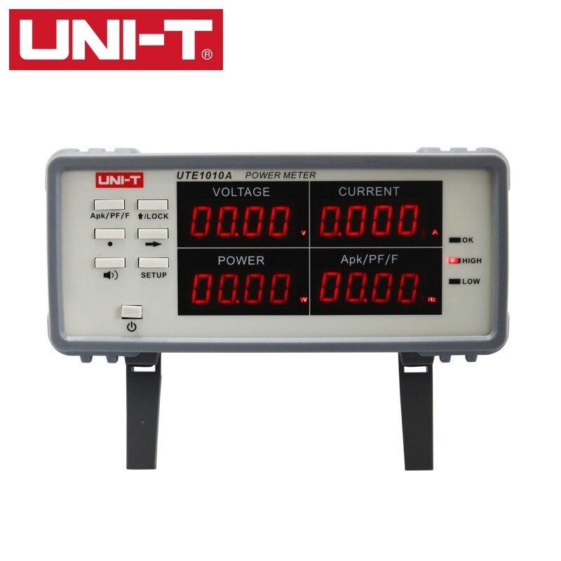 Uni-t Bench True RMS Voltage Current Digital Power Factor & Power Meter Analyzer Range 3000W UTE1010A