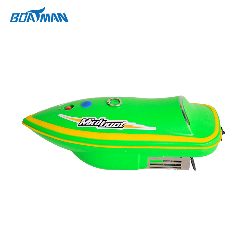 Boatman ABS strong Mini1B bait boat with rc for sending fishing lines free shipping boatman bait boat rc carp fishing bait boat with carring case for fishing tools