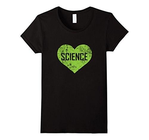 Us 1304 13 Offik Liefde Wetenschap T Shirt Grappige Leuke Tekst Groene Hart Gift Punk Vrouwen T Shirt 2017 Merk Casual Katoen Nieuwigheid Tops