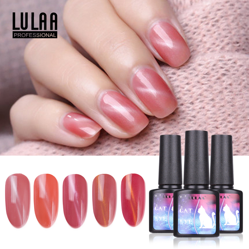 nail art gel polish 8m color rose cat eye gel decoration nail crystal glue diy6 color gift lady in Nail Gel from Beauty Health