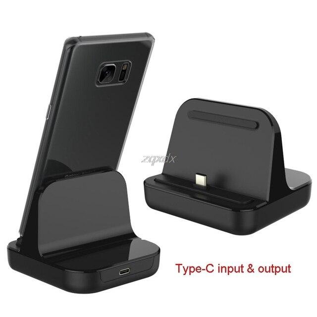 Type C Dock Charger Charging Desktop USB C 3.1 Cradle Station For Phone Jy19 19 Dropship