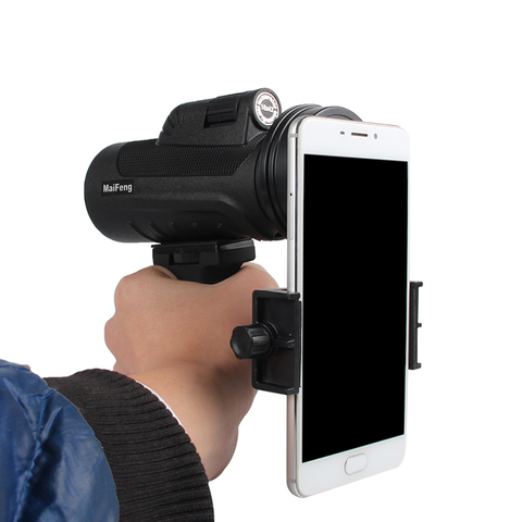 10X42 Telescope Dual Focus Monocular Scope Night Vision HD Prism Spyglass with Handle and Cellphone Clip for Wildlife 38-0011 Islamabad