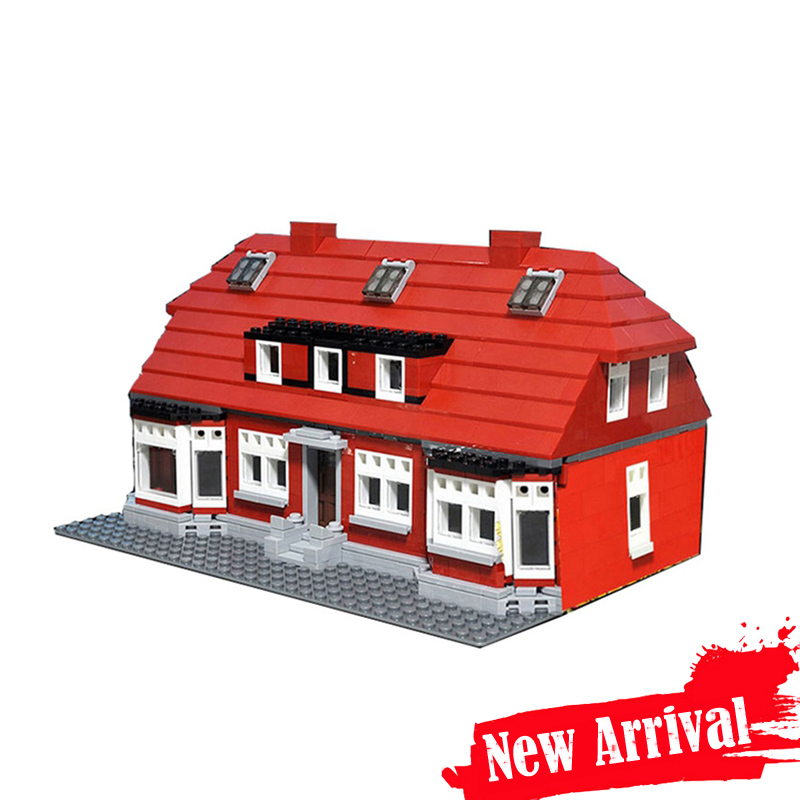 New Lepin 17006 928Pcs Serier The Red House Set 4000007 Education Building Kits Blocks Bricks Model Children Funny Toys Gift new lepin 23015 science and technology education toys 485pcs building blocks set classic pegasus toys children gifts