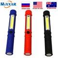 Zk10 COB LED Mini pluma multifunción luz de la antorcha de trabajo linterna de trabajo mano linterna con el Fondo imán dropshipping. exclusivo.