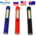 zk10 COB LED Mini Pen Multifunction Torch light Handle work flashlight Work Hand Torch With the Bottom Magnet dropshipping