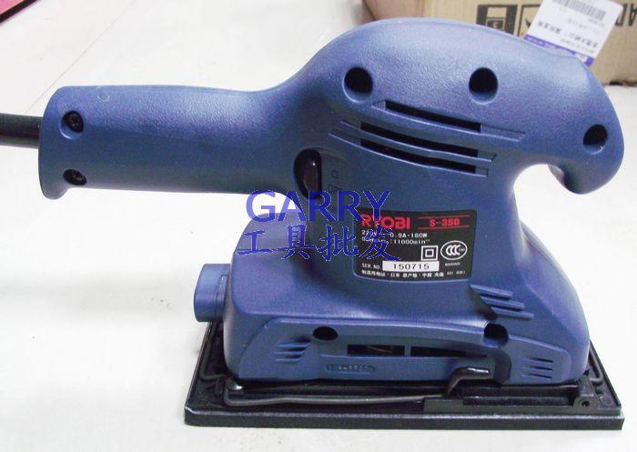 RYOBI Power Tools Electricity Sanders Polishers S 350 Palm Orbital Sanders 93*185mm Square Tectangle Pad