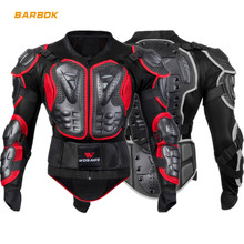 WOSAWE Professional Motorcross Armor Men Back Support Body Jackets Brace Cycling Motorcycle Snowboard Protective Gear Ski