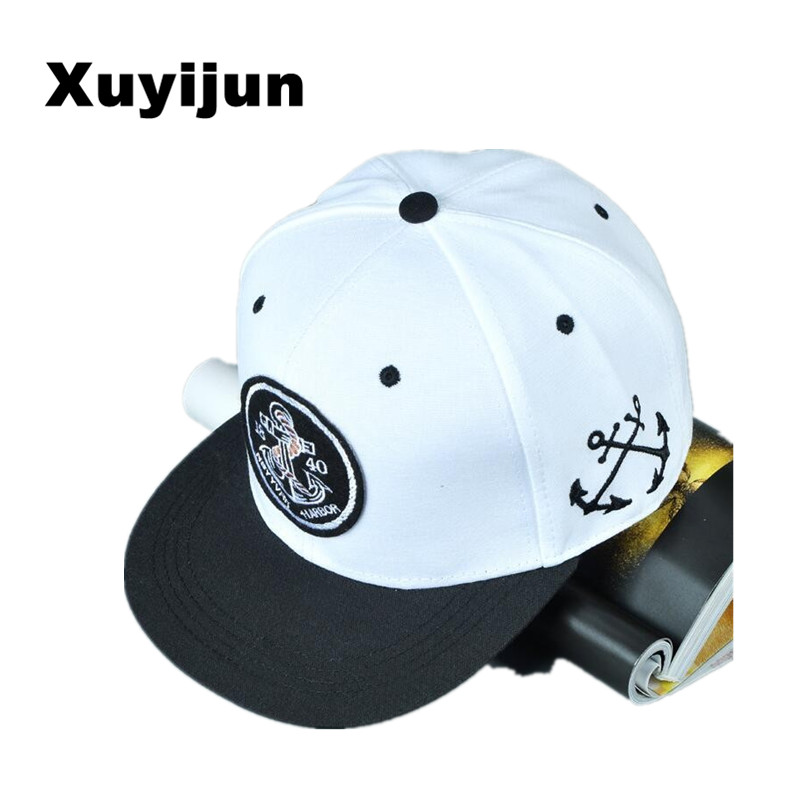XUYIJUN New fashion anchor embroidered baseball cap snapback caps hip hop hats for woman man casquette bone gorras cntang brand summer lace hat cotton baseball cap for women breathable mesh girls snapback hip hop fashion female caps adjustable