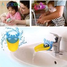Краб Мультфильм Детская направляющая раковина дезинфицирующее средство для рук инструменты для мытья рук кран удлинитель Детские аксессуары для плавания