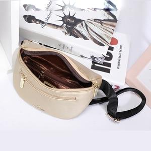 Image 5 - Luxury Multi functiona Womens Fanny Pack Shoulder Bag and Chest Bag Female Belt Sac Women Waist Bag High Quality Ladies Bolsa