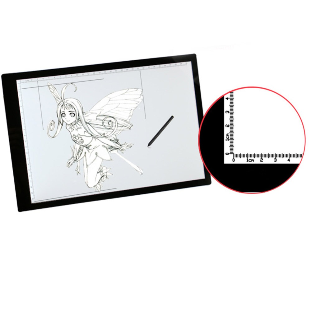 LED Drawing Tablet Write Light Digital Tablet Acrylic Writing Painting Light Box Copy Table LED Board Light Box Graphics tablets