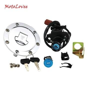 Motolovee Partol мотоциклетный топливный бак для газа крышка сиденья замок ключ набор Переключатель зажигания для Honda CBR600RR 1000RR
