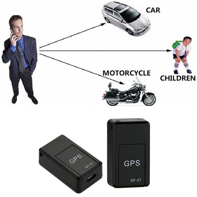 Mini dispositif de suivi magnétique de SOS de voiture de GPRS de GF07 GSM pour le traqueur de système de localisation de traqueur de localisation de voiture/personne gps