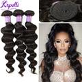 Brazilian virgin hair 10A human hair weave Bundles Loose Wave virgin hair 4 Bundles Loose Deep Brazilian Loose Wave hair style