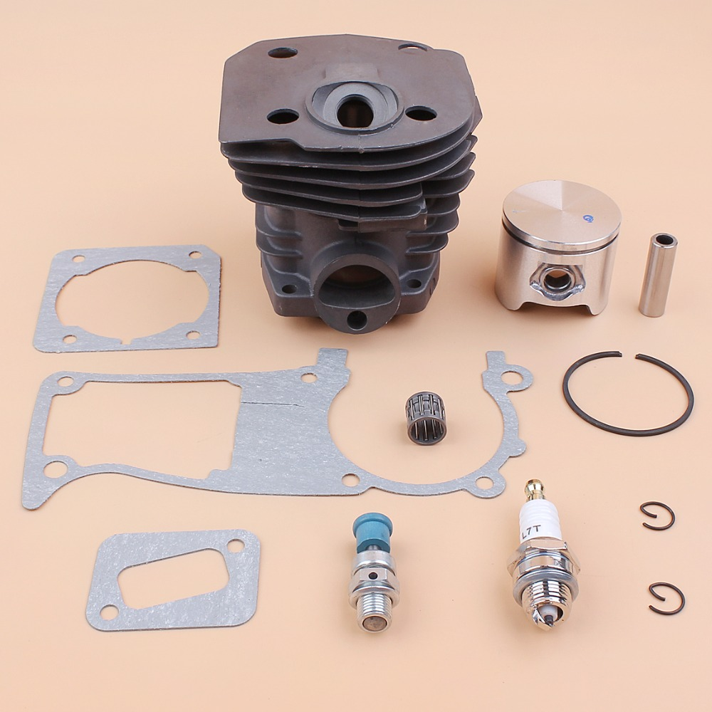44MM Cylinder Piston Gasket Compression Release Valve Kit For HUSQVARNA 350 346 351 353 Chainsaw Engine Motor Parts in Chainsaws from Tools