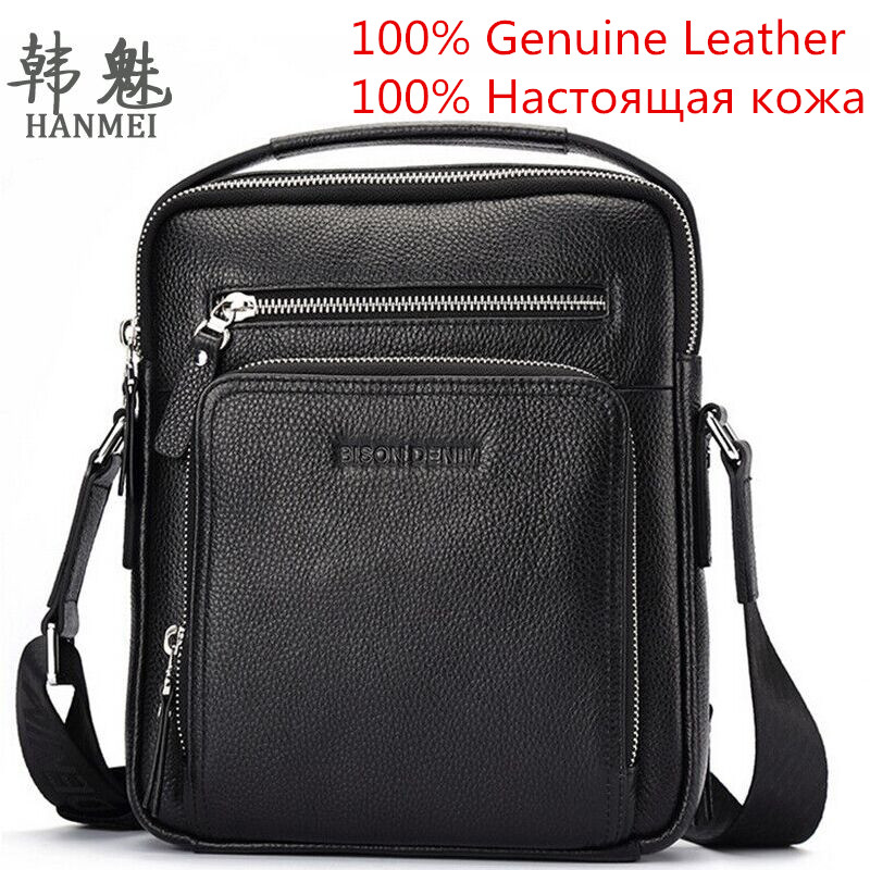ФОТО 2017 Luxury Brands Genuine Leather Handbags Cowhide Men Fashion Tote Messenger Shoulder Bags Gift Top Quality Free Shipping P405
