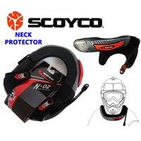 Scoyco  Protector de cuello de Motocross  protección de cuello de motocicleta  protección de cuello de armadura  Protector de larga distancia  equipo de protección de ciclismo N02|neck protector|neck brace|neck protector motocross -