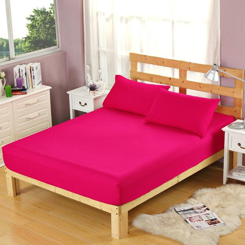 Cor de rosa de Poliéster Lençol Para Crianças Adultos Lixar Folha de Cama Para Cama de Solteiro Dupla Folha Única, nenhum Travesseiro Casos XF335-12