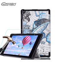 Map Pattern Case For Tablet For Amazon Kindle Fire HD 10 2015 10 1 Inch Full
