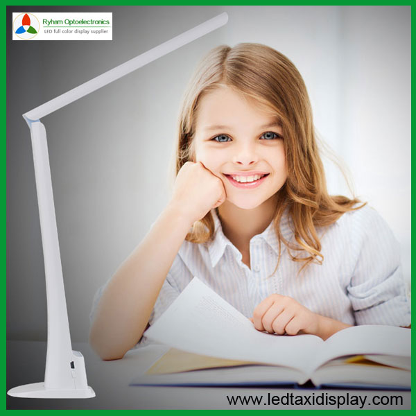 ФОТО 2 pcs LED Desk Lamp Eye protection Rechargeable Reading Touch On/off Switch Led Table Lights  RH-U12