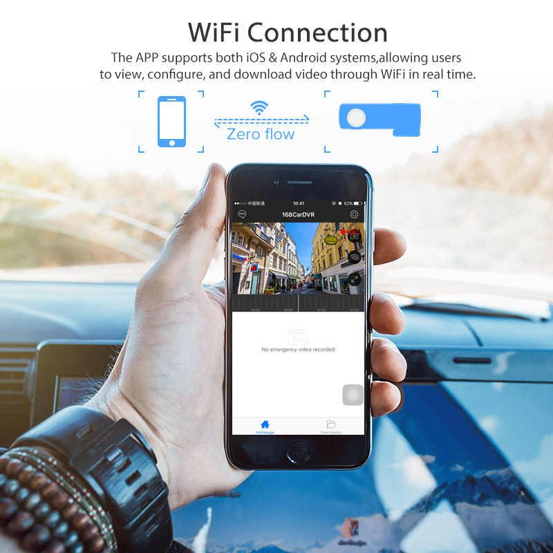 WiFi Скрытая Автомобильная dvr камера FHD1080 видеорегистратор Цифровой видеорегистратор для IOS Android Авто регистратор английская версия Прямая поставка
