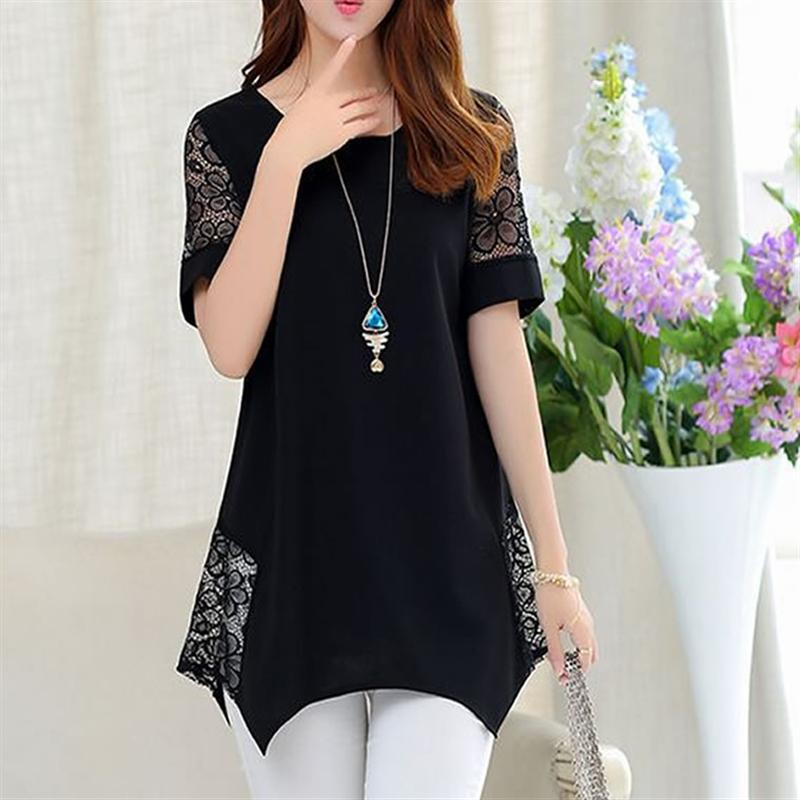 2017 new fashion blusa tops large size women 39 s clothing for Dress shirts for big bellies