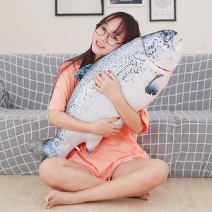 Image 5 - 60/75/100/120 ซม.3D จำลองปลาคาร์พตุ๊กตาของเล่นนุ่มสัตว์ปลา Plush หมอนสร้างสรรค์โซฟาหมอนโซฟาหมอนของขวัญของเล่นเด็ก