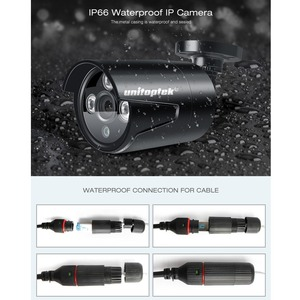 Image 5 - 4CH 4MP POE NVR نظام الدائرة التلفزيونية المغلقة التوصيل والتشغيل 2MP مقاوم للماء رصاصة كاميرا IP في الهواء الطلق IR 20M طقم مراقبة الأمن P2P XMEye