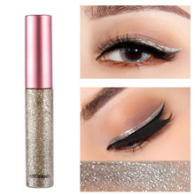 10 Colors Professional Eyeliner New Shiny Long Lasting Cosmetics for Women Pigment Rose Gold Color Liquid Glitter Eye liners 5 color glitter eyeliner waterproof rose gold liquid shiny eye liners women eyes cosmetics long lasting eye liner makeup tools