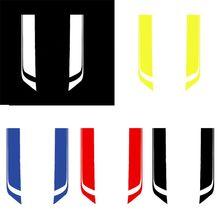 2Pcs Universal Car Hood Bonnet Vinyl Decals Car-Styling Sports Stripe Stickers