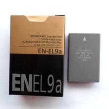 Batteries 1080mAh EN-EL9a EN EL9a ENEL9a, 2 pièces/lot, pour appareils photo Nikon D60 D5000 D40X D40 D3X D3000 D30