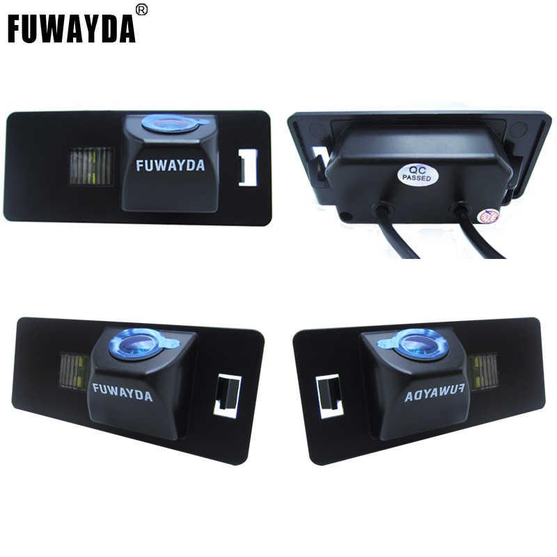 FUWAYDA Cho SONY Chip CCD CAMERA Quan Sát Phía Sau Đảo Ngược Với Hướng Dẫn Dòng CAMERA Cho Xe AUDI A1 A4 (B8) a5 S5 Q5 TT/ PASSAT R36 5D
