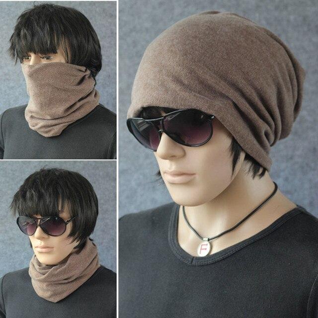Бесплатная доставка шляпа ведро шляпа осенне-зимней моды балаклава бедра-хоп зимние шапки мужские крышка мужчины бренд шапки топы большой размер
