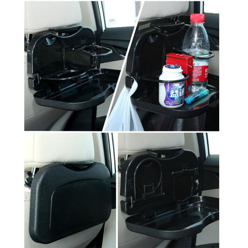 Car Supplies drink rack pallet car table dining tables rear seat water cup frame car chair back small plate folding