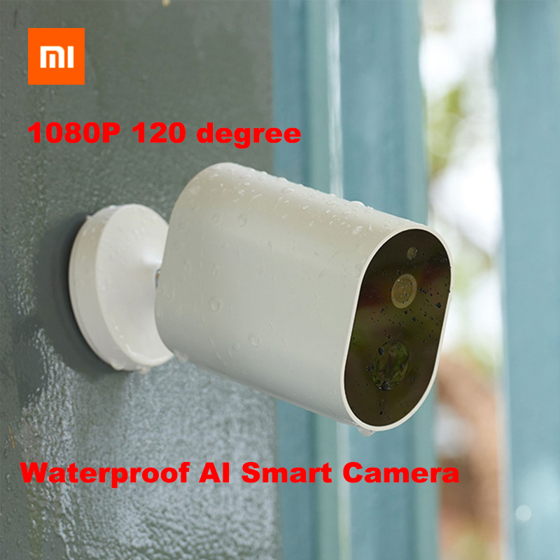 Xiaomi MIJIA Smart Camera 1080P Battery Gateway 120 Degree F2 6 AI Humanoid Detection IP WIFI
