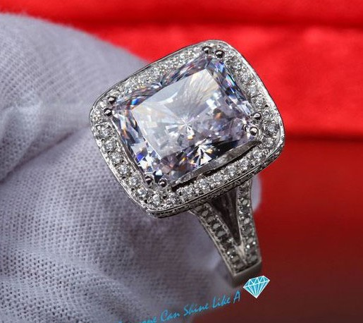 Big Cheap Wedding Rings: Popular Radiant Cut Diamond Engagement Rings-Buy Cheap